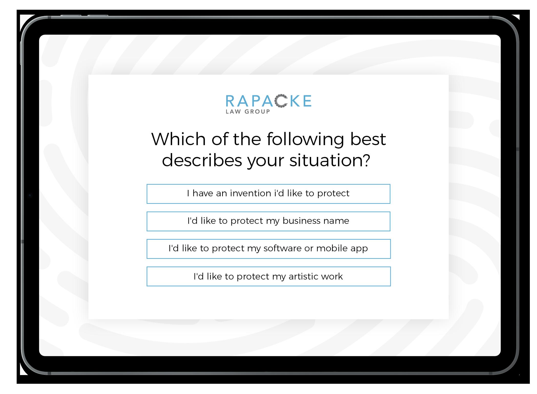 Rapacke Patent & Trademark IP Quiz